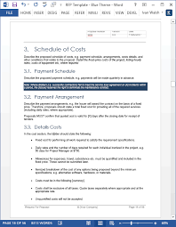 Ms Office Proposal Template Rfp For Website Design And Maintenance The Complete Website Redesign