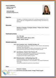 How To Resume Preparation Simple Resume Template Resume Template Ideas