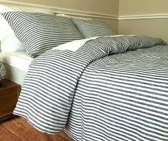 navy and white striped bedding natural linen stripe duvet cover blue bedspread light