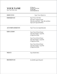 easy resumes template free easy resume templates free and easy resume builder