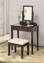 New Bedroom Vanity Furniture Simple Small Mirror Drawers Storage