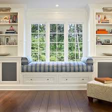 Ws20 Classic White Grey Window Seat Design Kitchens And  Furniture Steval Decorations