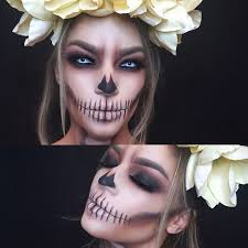 smoked out skull makeup are you looking for easy pretty makeup ideas for women to look the best at the party