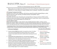 Resume Example Simple Resume Example RxElite Resumes