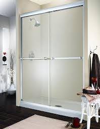 attractive replacement sliding shower doors at glass door parts designs