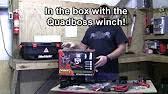 how to install the atv utv winch quadboss 9 38