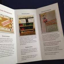 Teacher Brochure Example Awesome Template And Example Brochure To Give You An Edge At Job
