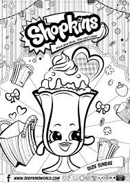 Free Shopkin Coloring Pages At Getcoloringscom Free Printable