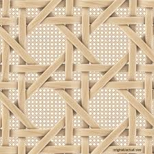 French rattan wicker pattern texture - 3DOcean Item for Sale