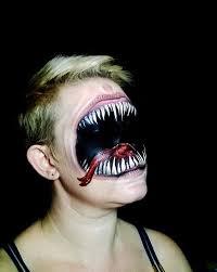 teeth venom makeup