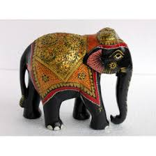 wooden elephant figurine online shopping india buy handicrafts