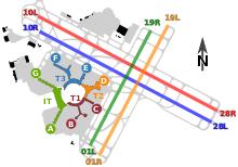 Sfo Runway Chart San Francisco International Airport Wikipedia
