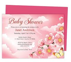 Baby Shower Invitations That Can Be Edited Baby Shower Invitations Templates Butterfly Kisses Shower Template