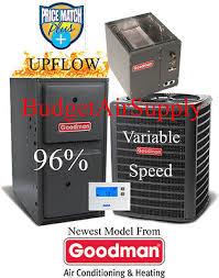 goodman 96 furnace. 3 ton goodman 16 seer 95/96% 80k gas furnace gsx160361+gmvc960804cn+ 96 r