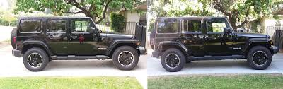 left pic stock height right pic 75 front spacers only
