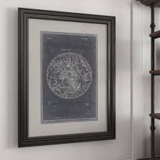 Black Chart Paper Painting Diy Craft
