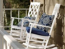 captivating white outdoor rocking chair on nursery mtc home design wood