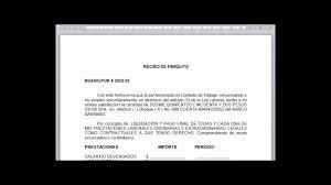 Formato De Recibos Formato Legal De Carta De Renuncia Y Recibo De Pago De Finiquito