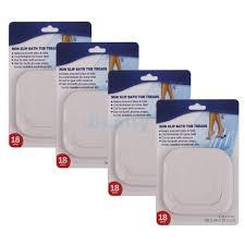 72pcs bath tub safety strips shower adhesive stickers non slip treads