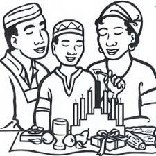 Small Picture Kwanza Coloring Pages Celebrating Kwanzaa With Bunch Of Candles