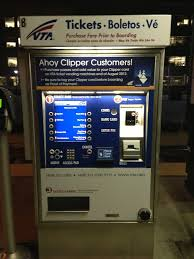 Vta Ticket Vending Machine Locations Impressive Takes ATM Ticket Payment As Well Yelp