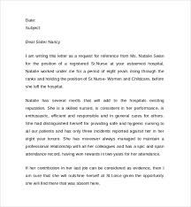 letter of recommendation template for nursing student nursing student letter of recommendation nursing letter of