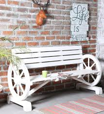 products ubu furniture. Lomira Solid Wood Outdoor Bench In White Color By Bohemiana Products Ubu Furniture