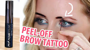 new maybelline 3 day brow tattoo review demo