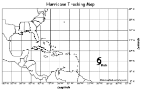Hurricane Tracking Chart Hurricane Tracking Enchantedlearning Com