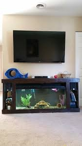 tank furniture. TV Stand, Home Decor, Wall Fish And Turtle Tank, Diy, Homemade Furniture :) | Crafts Pinterest Furniture, Tv Stands Decor Tank