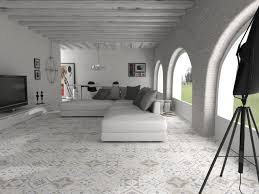 open plan moroccan style living e walls and floors terranean living room