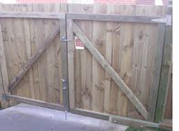 Simple Wood Fence Gate Plans Free And Design Decorating