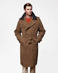 mens trench coat iconic long trench coat with detachable liner eimeygu