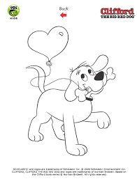 Clifford Printables Clifford Coloring Pages Pbs Kids