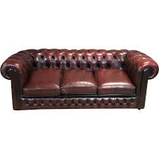 vine chesterfield sofa in leather