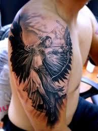100 Nejlepších Nápadů Anděl Tetování Pro Muže A ženy Na Fotografii