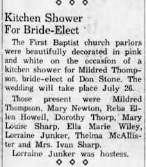 Mom (Reba) was present. Also, Becky (Elizabeth Howell) Sharp. Mary Louise  Sharp, Ivan's sister - Newspapers.com