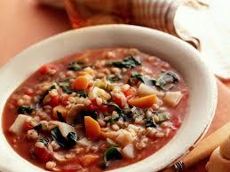 crock pot barley vegetable soup recipe