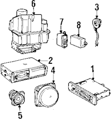 Genuine land rover speaker ran amr2890
