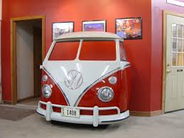 look what they did to this vw bus