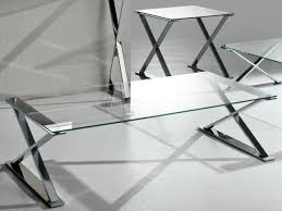 stainless steel glass top coffee table  coffee tables decoration