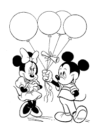 Small Picture Coloring pages done some how maybe on paper at table Mickey Mouse