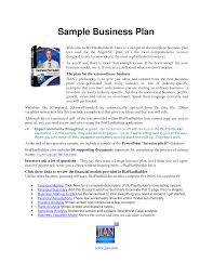 Purpose Of A Resume Show Me Business Plan Examples Sample Good Resume The Example Of 90