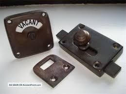 bathroom door knobs bathroom door lock with occupied