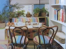 1980s Breakfast Room This breakfast room is the interior design ...