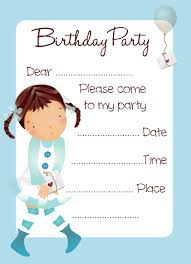 Birthday Party Invitation Cards Free Download Magdalene