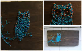 New String Art: The Owl