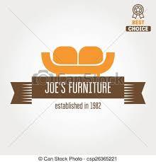 vintage furniture logo. Vintage Logo, Badge,emblem Or Logotype For Furniture Shop - Csp26365221 Logo