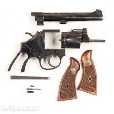 smith wesson k 22 revolver blued