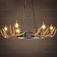 9 light vintage retro rustic antler chandelier pendant lights for living room dining room cafes